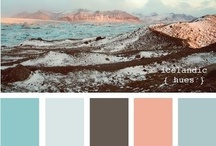 Fire and ice palette