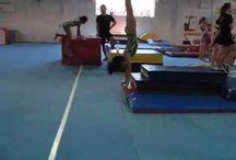 Handspring drills / Gymnastics