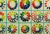 Arty Colour wheel