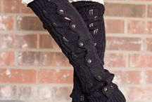 Leg warmers, boot toppers
