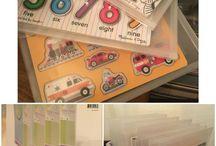 Kids toys organisation