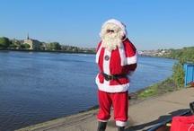 Santa Claus visits Derry on his Summer holidays!