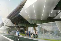 Spaces under expressway