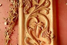 деревянные резьба