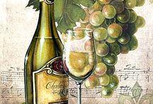 kuchyňa -vino