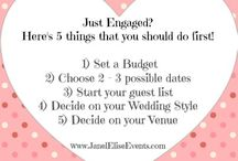 Wedding Planning Tips and Ideas / Follow this board for Wedding Planning Tips and Unique Wedding Ideas