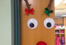 Christmas SHARED AREA DOOR