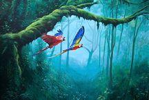 Painting / Bilder und Wandmalerei