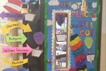 Door decorations for school / by Angie Clover