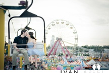 Engagement Session at the Fair