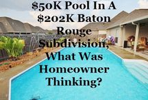 Swimming Pool Value In Home Appraisals / Swimming Pool Value In Home Appraisals / by Bill Cobb