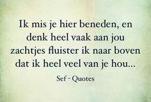 Quotes - Ik mis je