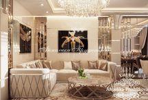 Дизайн интерьера квартиры в стиле Ар Деко в г. Сургут / Современный дизайн интерьера квартиры в г. Сургут  разработан в каноне Ар-Деко. Каждое помещение иллюстрирует стиль и лучшие черты этого направления. Проект интерьера квартиры включает в себя оригинальные дизайнерские решения и правильно подобранный декор, благодаря которому происходит игра света, а четкие линии и полностью раскрывают стиль Ар Деко.