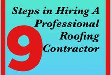 STEPS IN HIRING A PROFESSIONAL ROOFING CONTRACTOR