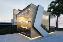 Desain Area Kios Depan