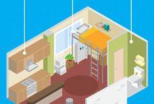 micro apartment ideas