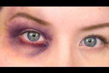 Bruise makeup