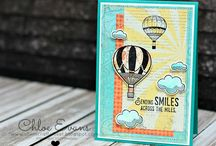 Stampin' Up! Lift Me Up cards