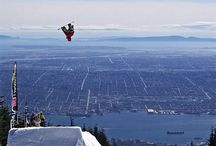 Extreme jump, Snowboarding