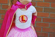 girly superhero