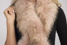 Stylish Fox Fur Scarves / Fox Fur Scarves - Made in Italy