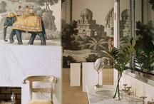 Faliképek, festmények, tapéta
