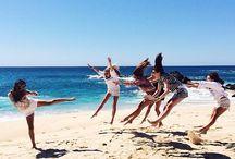 vacaciones con amigas