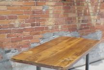 Wooden Tables / Reclaimed