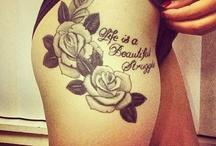 bovenbeen tattoos