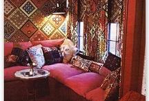 Oriental 70s lounge