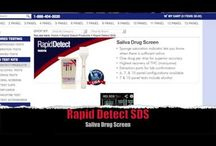 Saliva Drug Test / Rapid Detect SDS, OrAlert 6, and the Oratect