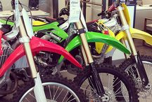 Dirt Bikes / Some of the neat dirt bikes we have for sale.