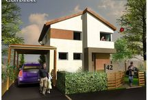 Via Carmina - Case construite de-a lungul timpului / In cursul anului, in cartierul Via Carmina vor fi construite 3 modele noi de case.