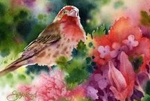Watercolor Art & Techniques / Watercolor artists, tips and techniques