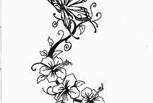 Ideas vir my tattoo / by Angelique Roos