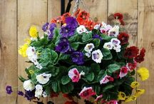 Artificial flowers / A board of artificial flower ideas for people like me who can't / won't garden.