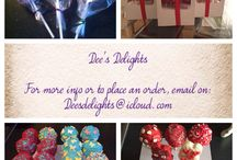 Dee's Delights / Home baked treats from cakes to cake pops to cupcakes to character biscuits.