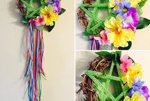 Beltane - crafts, clothes and May Day celebrations / Celebrate the beginning of summer and the ever changing circle of life by decorating your home with beautiful nature inspired crafts, bright Spring colours and Pagan fun. Grab your ribbons, flowers and wands and lets dance with the fairies into the summer nights.