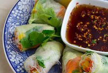 Recipes Paper,Egg and Spring rolls