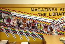Displays @ our Libraries / Showcasing library displays, bulletin boards and great ideas