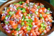 dips dressings and salsa