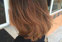 Long bob / Layered