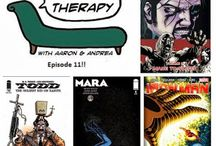 Comics Therapy / A weekly comics show where Andrea Shockling and Aaron Meyers talk about comics, their lives and the big issues we all deal with. No Reviews, Just Analysis. Comics Therapy.com