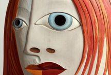 Portraits / Een nieuwe uitdaging..... Zelfportretten voor de meisjes van de Fabryk; thema najaar 2015
