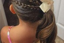 Flower girl - hairstyle