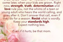 Be That Mom / Encouragement for moms from Gena Suarez.