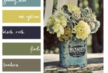 House: Color combos / Color combinations in beautiful hues.
