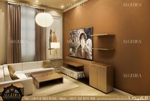 Apartment Interior Design By ALGEDRA / In ALGEDRA Interior Design, we will study and develop the project detailing your aims, goals and any other requirements, Client satisfaction is our priority