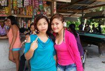 Friends & neighbours in Samal island