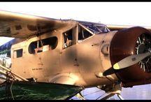 Float plane ride in Yukon
